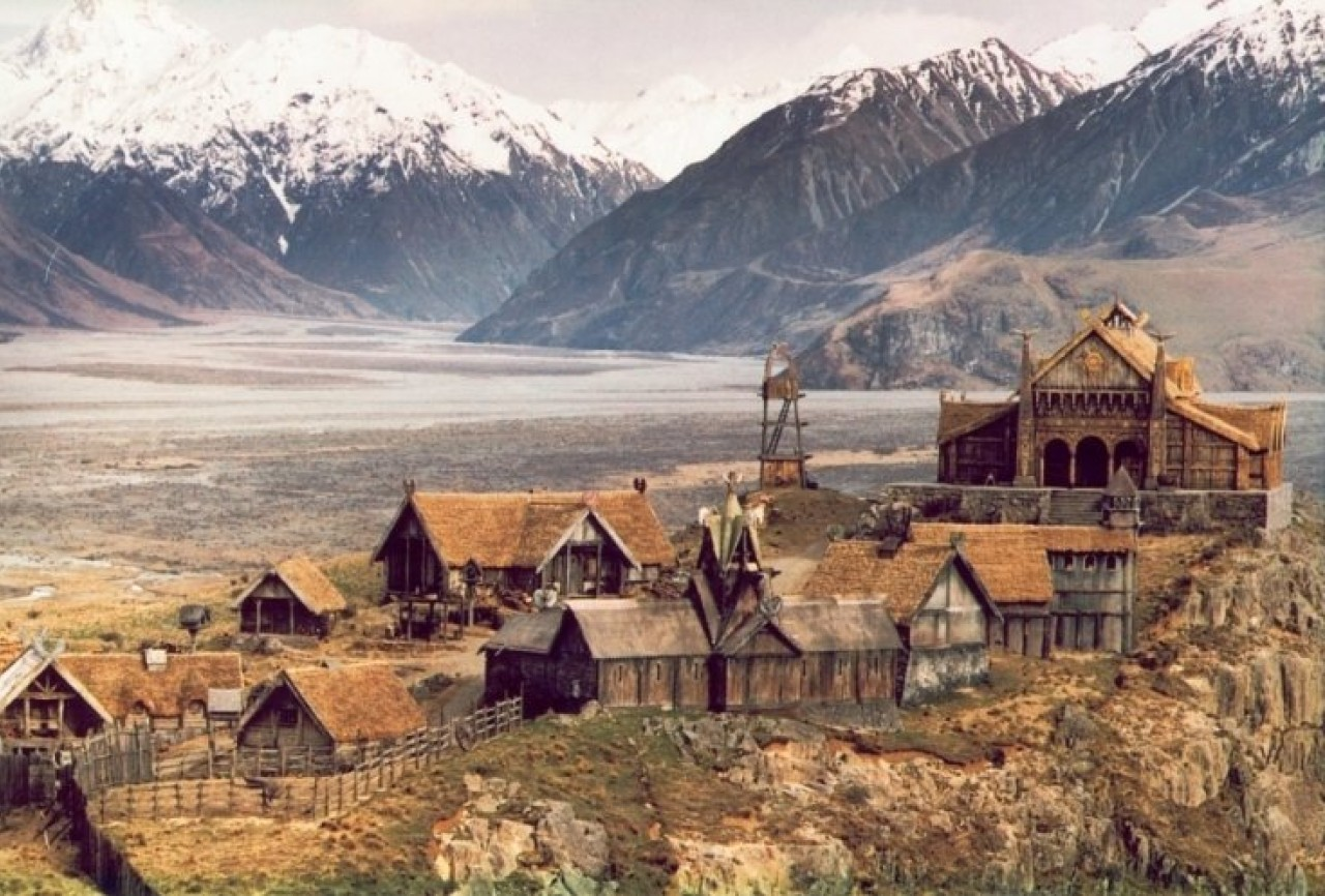 Edoras Lord of the Rings