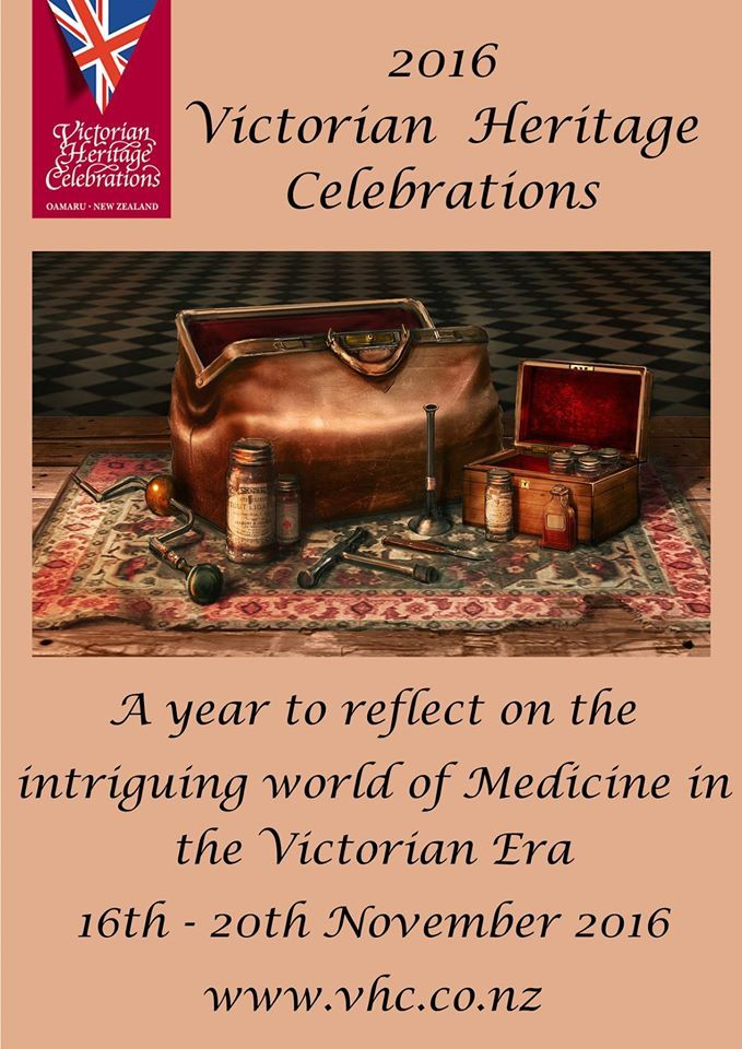 Victorian Heritage Festival flyer
