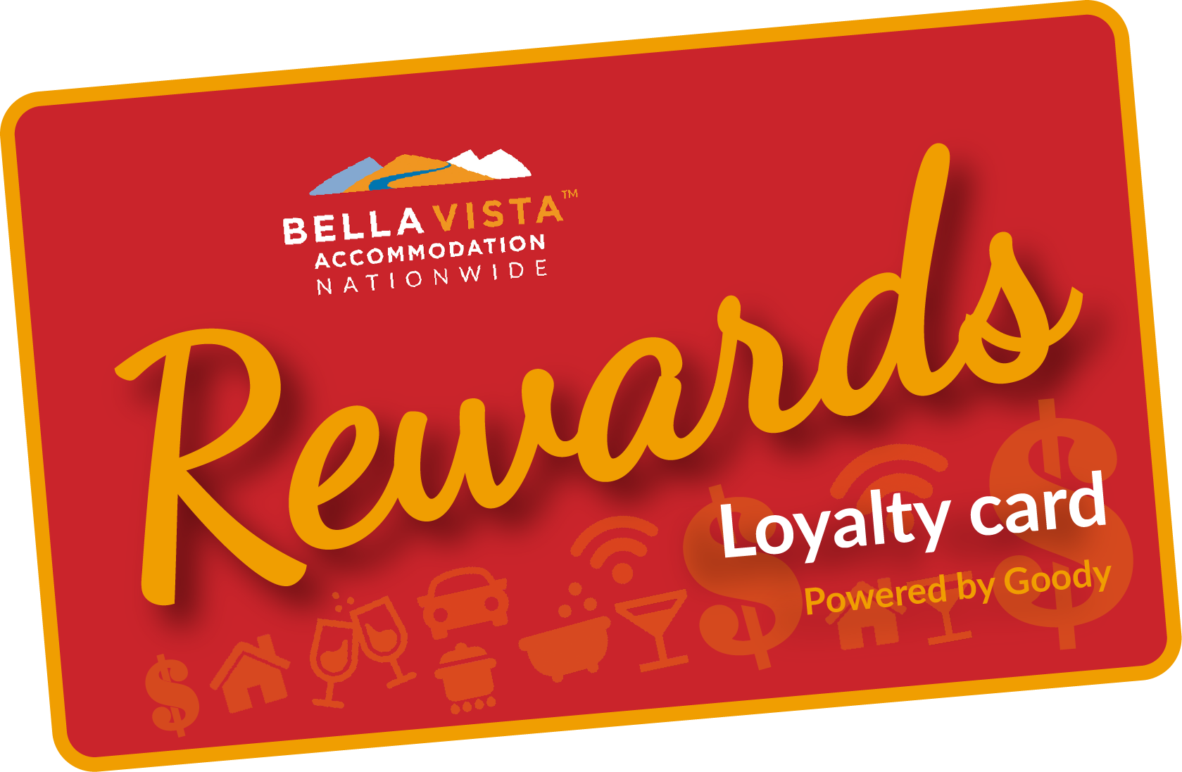Bella Vista Rewards Loyalty Card