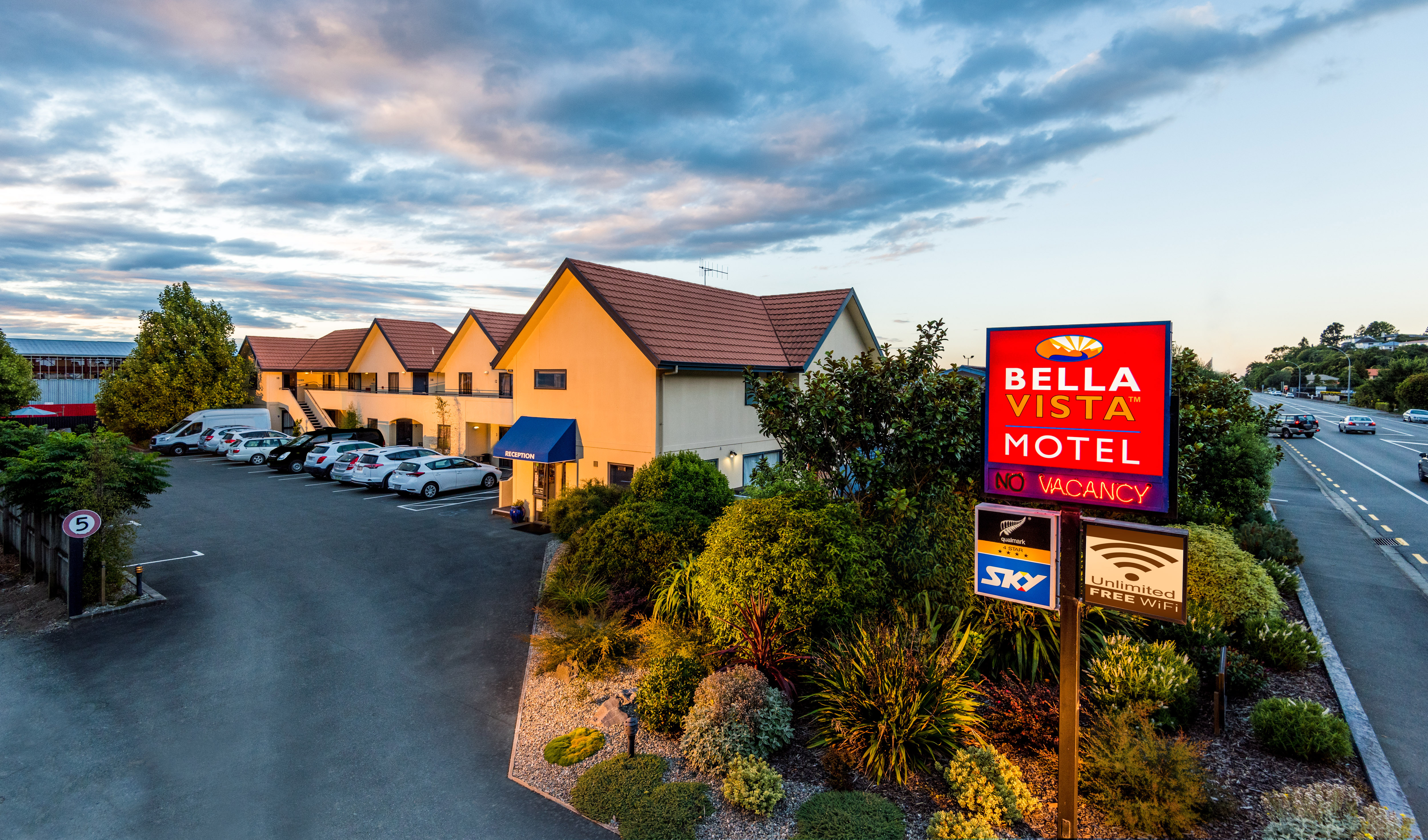 Nelson Accommodation | Bella Vista Motel Nelson
