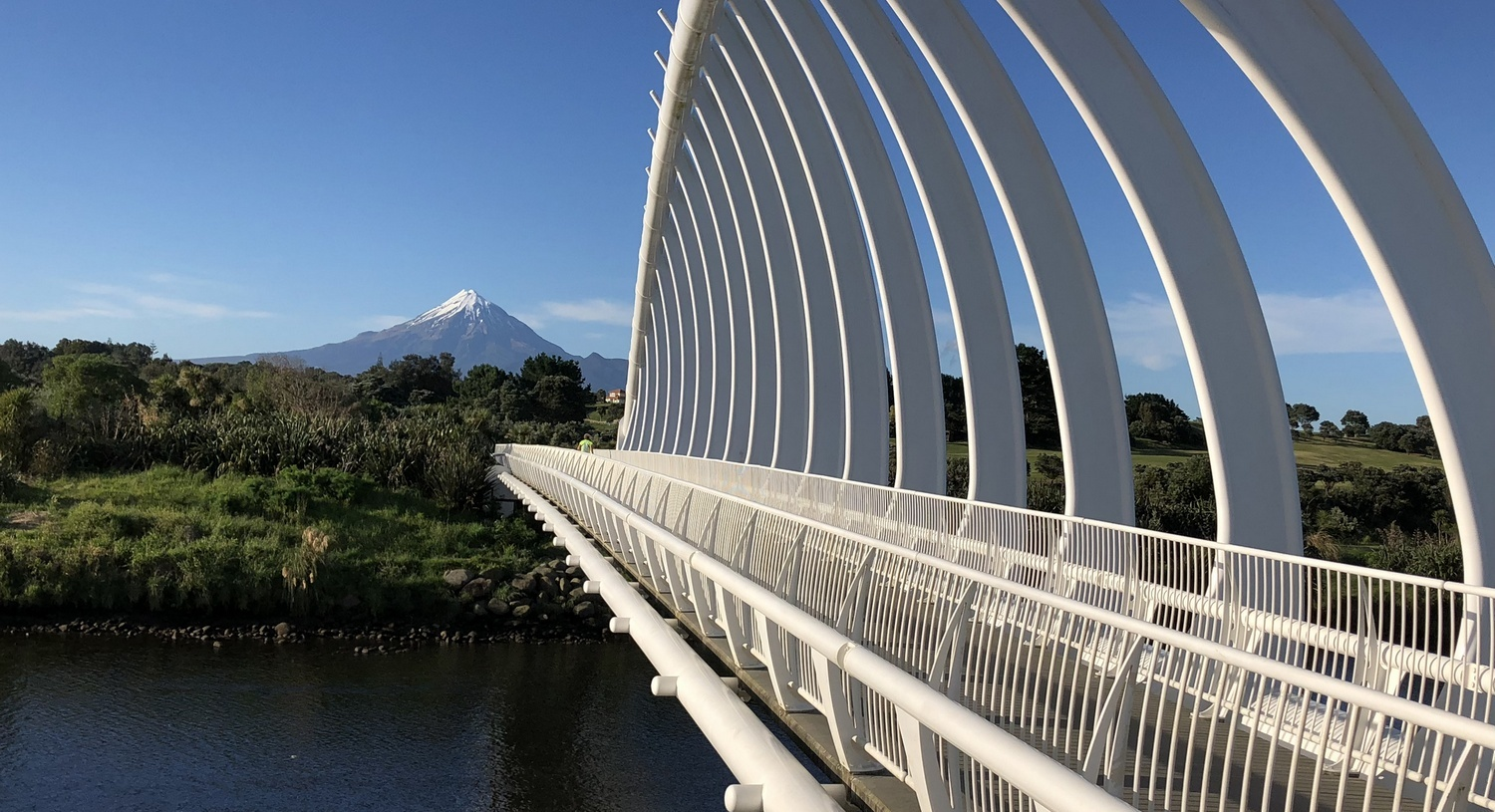 Te Rewa Rewa Bridge New Pymouth