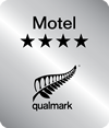 Qualmark Logo 4 Star Motel